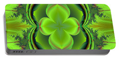 Green Clover Portable Battery Charger