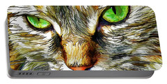 Green-eyed Monster Portable Battery Charger