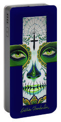 Green Eyes Blue Portable Battery Charger