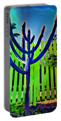 Green Fence Portable Battery Charger