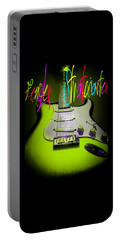 Green Stratocaster Guitar Portable Battery Charger
