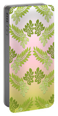Green Fern Portable Battery Charger
