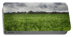 Green Fields 4 Portable Battery Charger by Douglas Barnard