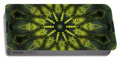 Succulent Mandala Portable Battery Charger