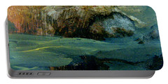 Green Fog Portable Battery Charger by Nancy Kane Chapman