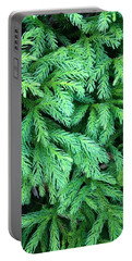 Green Foliage Portable Battery Charger