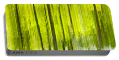Green Forest Abstract Portable Battery Charger