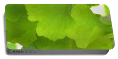 Green Ginkgo Portable Battery Charger