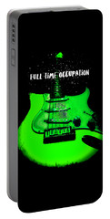 Green Guitar Full Time Occupation Portable Battery Charger