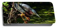 Green Heron Portable Battery Charger