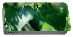 Green Leaves 2 Portable Battery Charger