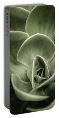 Portable Battery Charger featuring the photograph Green Leaves Abstract IIi by Marco Oliveira