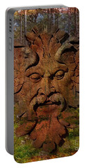 Green Man Of The Forest 2016 Portable Battery Charger