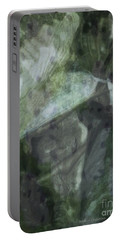 Green Mist Portable Battery Charger by Kathie Chicoine