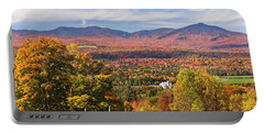 Green Mountains Autumn View Portable Battery Charger