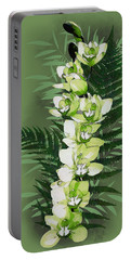 Green Orchid Portable Battery Charger