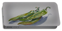 Green Peppers Portable Battery Charger