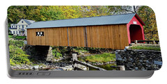 Green River Covered Bridge - Southern Vermont Portable Battery Charger