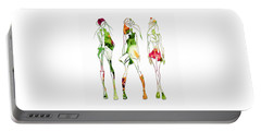Green Salad Fashion Portable Battery Charger