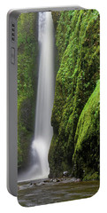 Portable Battery Charger featuring the photograph Green Slot Canyon by Jonathan Davison