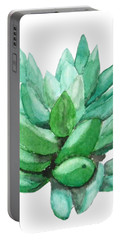 Green Succulent  Portable Battery Charger