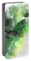Green Tropical Portable Battery Charger