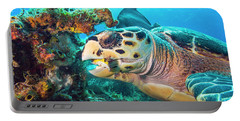 Green Turtle Dining Portable Battery Charger