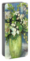 Green Vase Portable Battery Charger