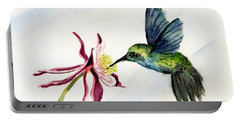 Green Violet-ear Hummingbird Portable Battery Charger