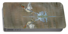 Green-winged Teal Duck Portable Battery Charger