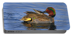 Green-winged Teal Portable Battery Charger