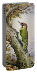 Green Woodpecker Portable Battery Charger