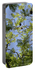 Greenery Left Panel Portable Battery Charger