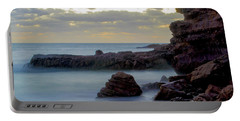 Portable Battery Charger featuring the photograph Greenglades Beach Morning by Angela DeFrias