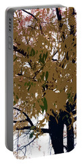 Greenish Gold Portable Battery Charger
