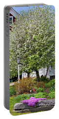 Greensboro Vermont Spring Portable Battery Charger by Alan L Graham