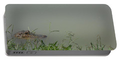 Greenwood Gator Farm Portable Battery Charger by Cynthia Powell