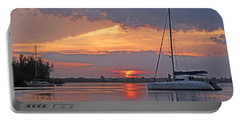 Greet The Day Portable Battery Charger by HH Photography of Florida