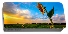 Portable Battery Charger featuring the photograph Greeting The Dawn  by John Harding