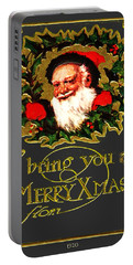 Greetings From Santa Portable Battery Charger