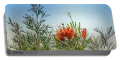 Grevillea With Moon Portable Battery Charger