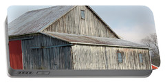 Rustic Barn Portable Battery Charger