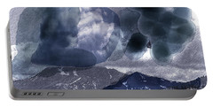 Grey Clouds Portable Battery Charger