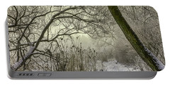 Grey Day #h1 Portable Battery Charger