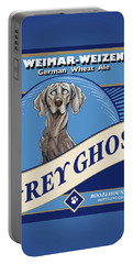 Grey Ghost Weimar-weizen Wheat Ale Portable Battery Charger