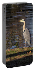 Grey Heron  Portable Battery Charger