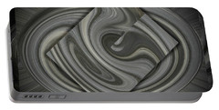 Grey On Grey Portable Battery Charger