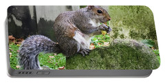 Portable Battery Charger featuring the photograph Grey Squirrel  by Geoff Smith