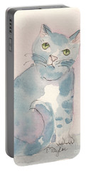Grey Tabby Portable Battery Charger