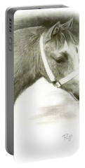 Grey Welsh Pony  Portable Battery Charger